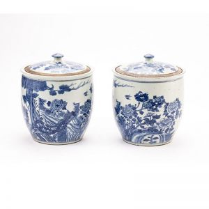 Contemporary Pair Of Ginger Jars