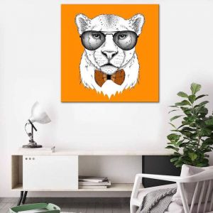 Cool Cat | Canvas Print