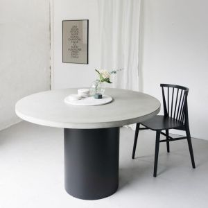Cooper Concrete Round Dining Table