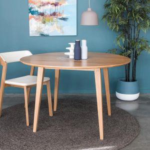 Copenhagen Solid European Oak | 120cm Round Dining Table