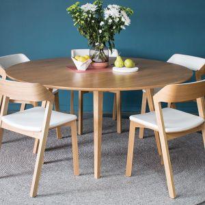 Copenhagen Solid European Oak | 155cm Large Round Dining Table