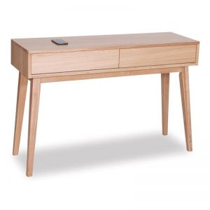 Copenhagen Solid Oak Hall Entrance Console Table