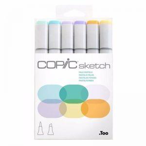 Copic Sketch Art Marker Set of 6 | Pastel Colours