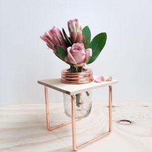 Copper Flower Frame