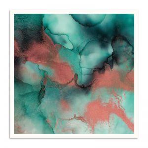 Coral Seas | Martine Vanderspuy | Canvas or Print by Artist Lane