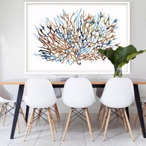 Coral Water | Framed Art