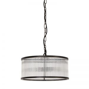 Corbelle 4 Light Pendant in Antique Black | By Beacon Lighting