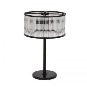 Corbelle 4 Light Table Lamp | Antique Black or Chrome