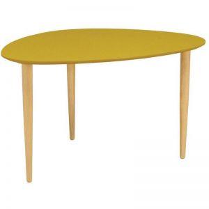 Corey High Yellow Side Table | Modern Furniture