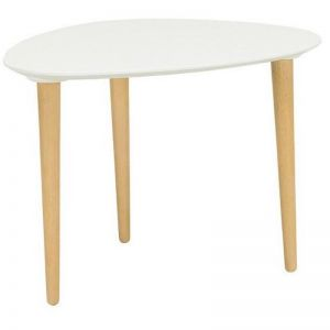 Corey Side Table | White
