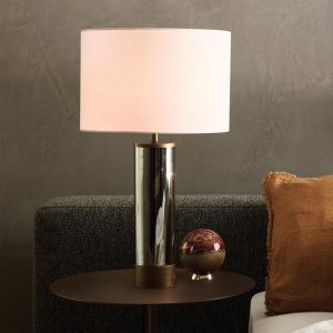 Corian 1 Light Touch Table Lamp | Bronze/Smoke with USB Port