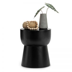 Corky Replica Eggcup Stool | Black
