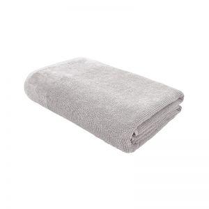 Costa Cotton Bath Sheet   82x160cm   Silver