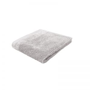 Costa Cotton Face Washer | 33x33cm | Silver