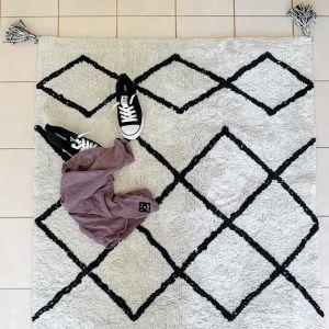Cotton Berber Bath Mat   Oversized