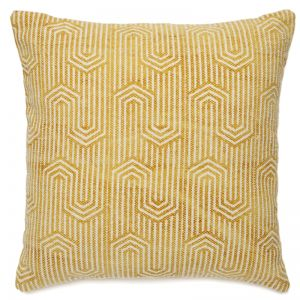 Cotton Printed Indoor Cushion | 50x50 CM | Insert Included | Viola