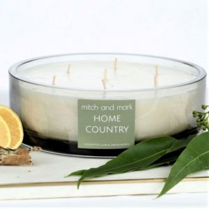 COUNTRY Essential Oil Candle | Limited Edition Bowl | Personally signed by Mitch and Mark