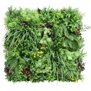 Country Fern Bespoke Vertical Garden | Green Wall | 90cm x 90cm | Indoor Only