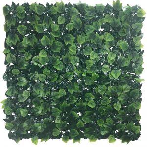 Country Oak Artificial Vertical Garden | Hedge Panel 1m x 1m