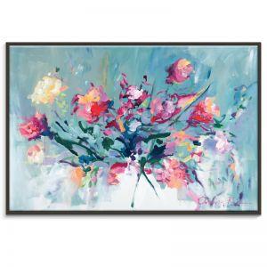 Courage to Bloom | Amira Rahim | Framed Canvas Print | SALE