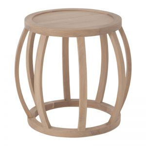 Crabo Side Table | Oak | by Uniqwa Collections