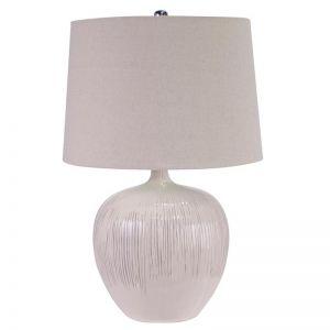 Cream Ceramic Table Lamp | by Dasch Design