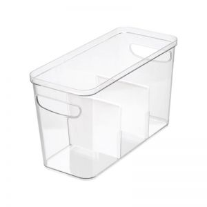 Crisp Divided Storage Container | LRG | CLU LIVING