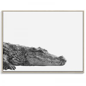 Croc | Canvas or Print by Artist Lane