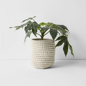 Crochet Basket Large | Natural by Aura Home