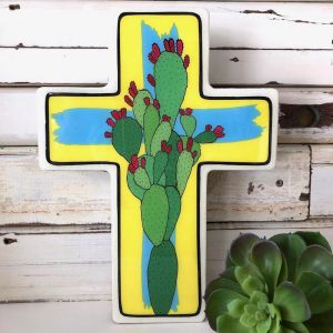Cross | Large Prickly Pear Pop