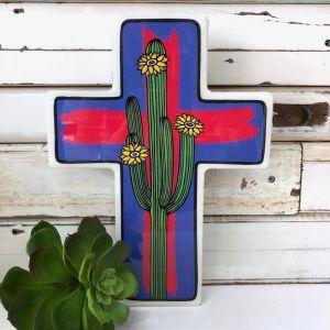 Cross | Large Saguaro Pop
