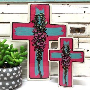 Cross | Small Geraldton Wax Pop
