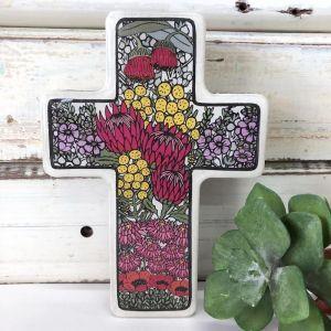 Cross | Small Wildflower