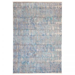 Crupet Blue Indoor Rug   Radiant Collection by Fab Habitat