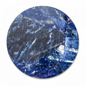 Crystal Circle Tray | Sodalite