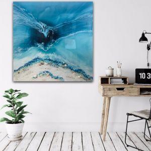 Crystal Clear   Ocean Crystal Original Artwork   Antuanelle