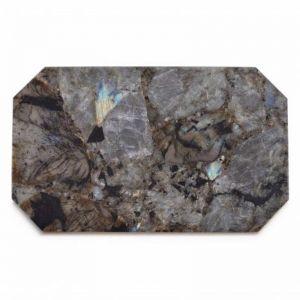 Crystal Rectangle Tray | Labradorite