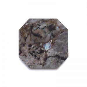 Crystal Square Trivet | Labradorite