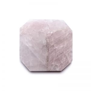 Crystal Square Trivet | Rose Quartz