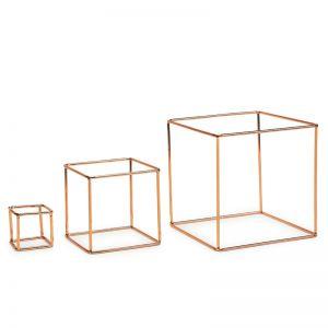 Cubes | 3 Set | by Bendo | Copper