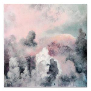 Cumulo Blush | Hand Painted Artwork by United Artworks