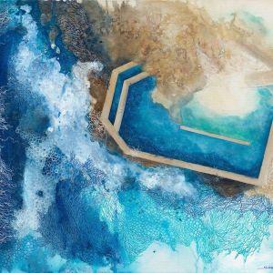Curl Curl Ocean Pool   Art Print