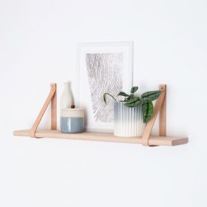 Curved-Edge Shelf | 90cm | Jemmervale Designs