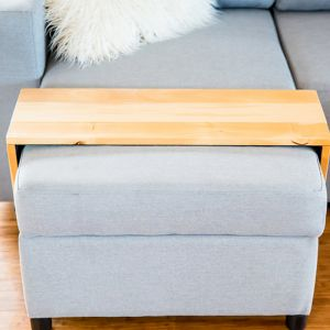 Custom Ottoman/Chaise Table | Hydrowood Huon Pine | by Couchmate
