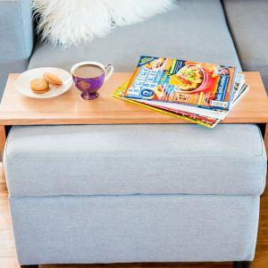 Custom Ottoman/Chaise Table | Premium Tasmanian Oak | by Couchmate