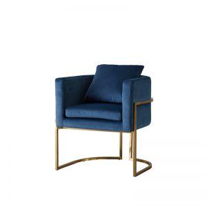 Cynthia Chair | Velvet | Blue