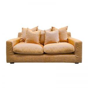 Cynthia Sofa 2.5 Seater | Sunset Orange