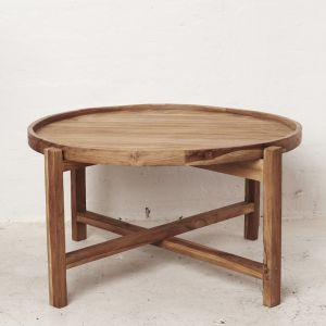 Cyrus Round Coffee Table l Custom Made