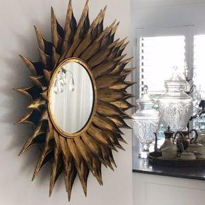 Dahlia Mirror | Gold