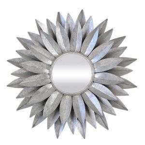 Dahlia Mirror | Silver